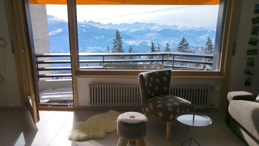 Golf/Indoor pool/3-bedroom/Top View - Crans-Montana - Condo