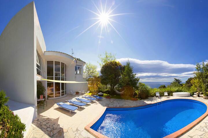 Villa Hector with pool and magnificent views - Piano di Sorrento - Villa