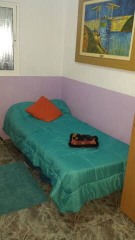 Habitación con cama individual. - Manises - Leilighet