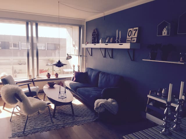 Charming apartment with balcony - Viby - Apartment