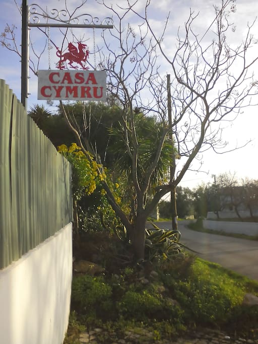 Look for Casa Cymru, look for the Red Dragon.