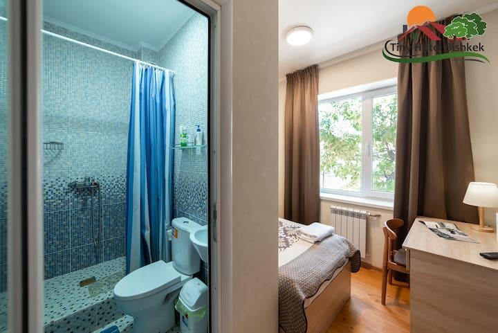 Single Room #2 at Tiny Hotel Bishkek