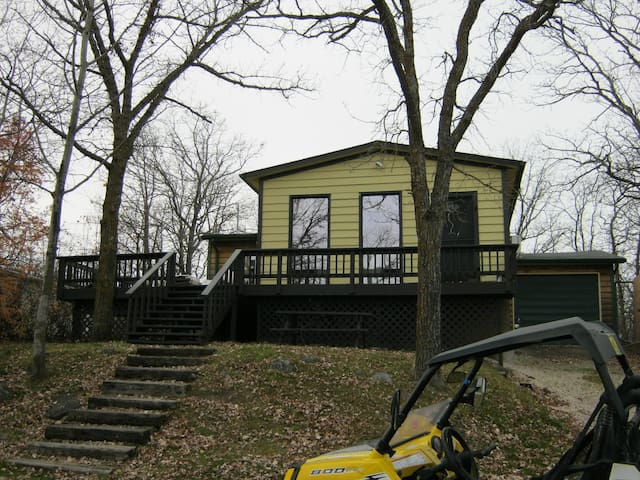 Gull Lake manitoba cabin rental - Gull Lake - House