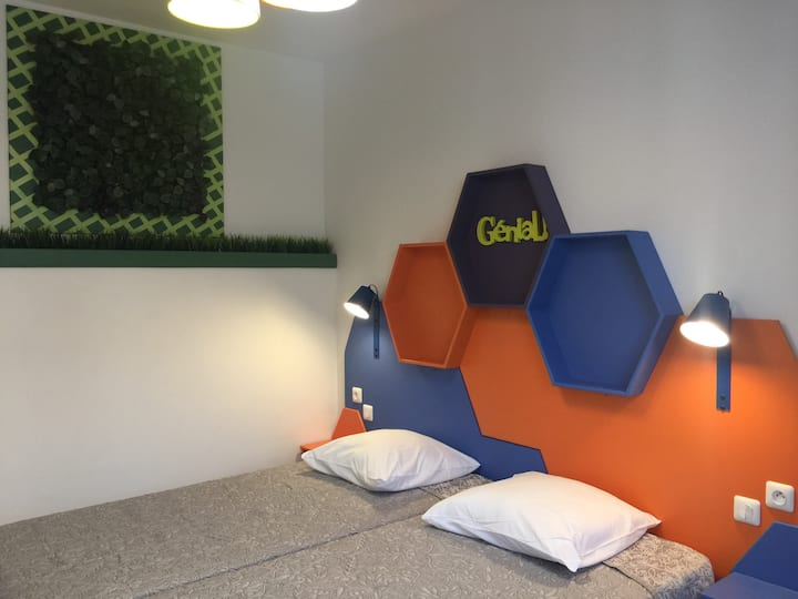 Chambre Double Low-Cost