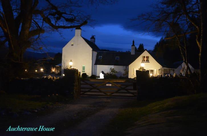 Auchterawe House in Auchterawe Forest