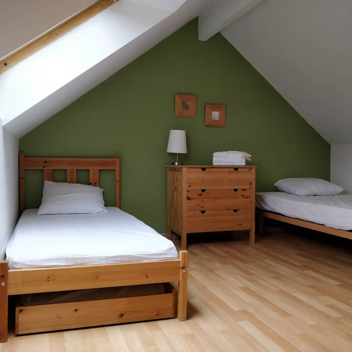 Le Reposoir, chambre Mathieu