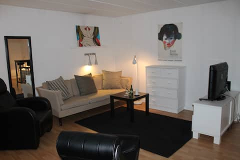 60 m2 Studio close to Roskilde and Køge