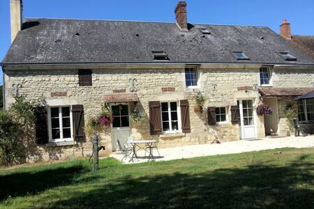 17C farm Bed&Breakfast 3 rooms available . - Villeneuve-en-Perseigne - Bed & Breakfast