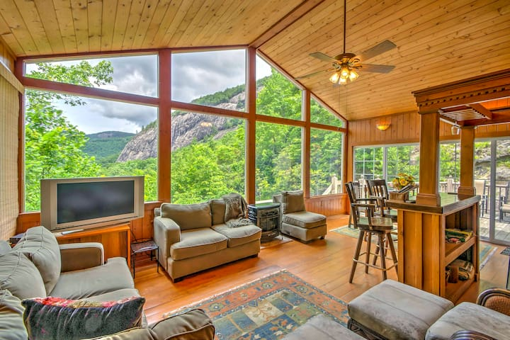 Mountain Home w/ Deck, 1 Mi to Ski Sapphire Valley