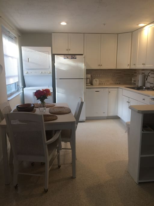 Kitchen recently remodeled.  Includes washer, dryer and dishwasher.
