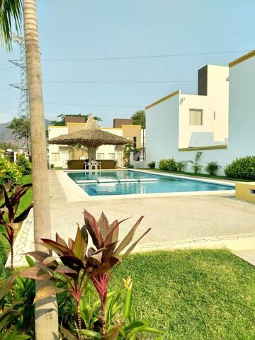 Casa en Acapulco c/aire acondicionado y alberca