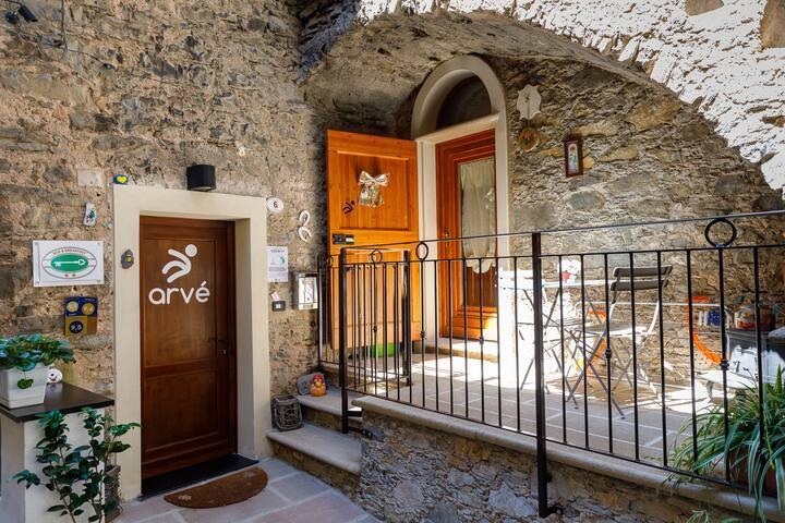 Appartement B&B Arvé Castelbianco