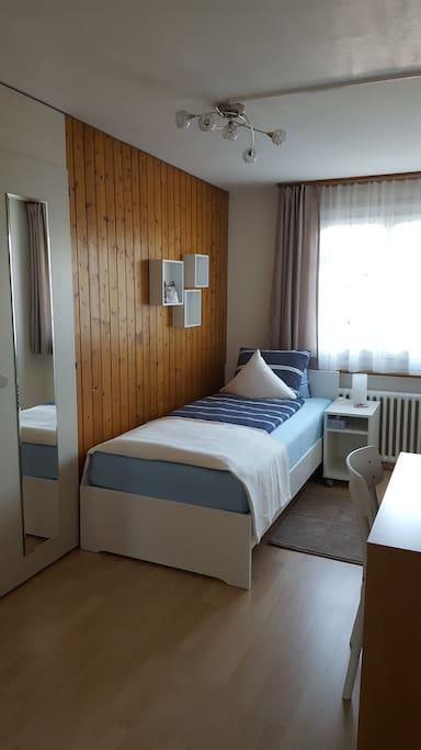 V einkaufsm glichkeit garten chambres d 39 h tes louer for Chambre d hote suisse