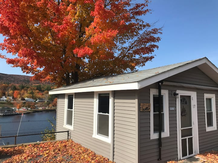 Lake Winnipesaukee View/Access from 1 Bdrm Cottage