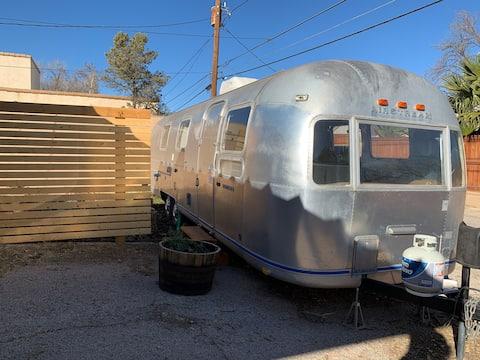 Vintage Airstream & Canvas Yurt | Central Midland