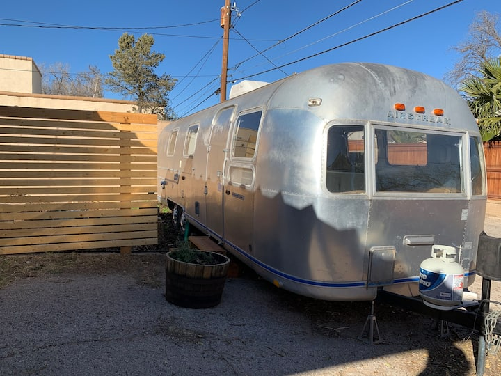 Vintage Airstream & Canvas Yurt | Central Midland