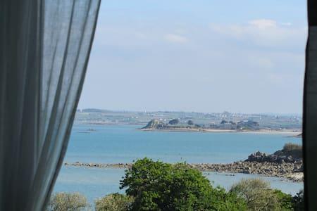 maison vue mer panoramique à 50m de la plage - Roscoff - Ev