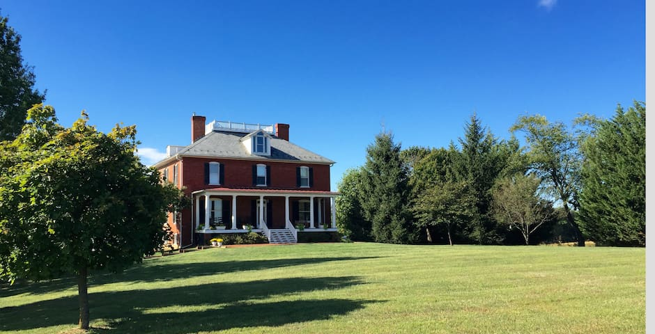 Historic Manor in the Shenandoah Valley