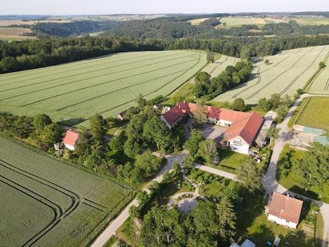 Rekreačný byt na farme