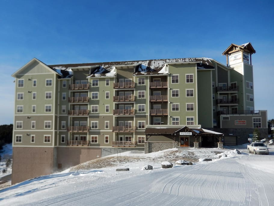 Soaring Eagle is the highest ski lodge east of Colorado.