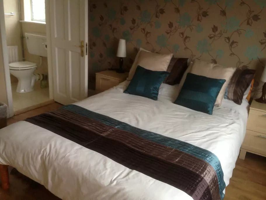 Castleview b b room 03 bed and breakfasts for rent in for Garden rooms limerick