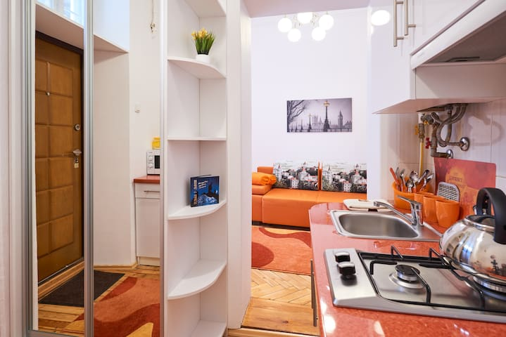 New apartment 10 min to Lviv center - Leopoli - Appartamento