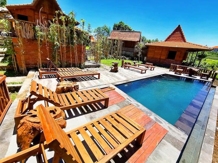 One Bedroom - Bamboo Ethnic is Ubud in Canggu