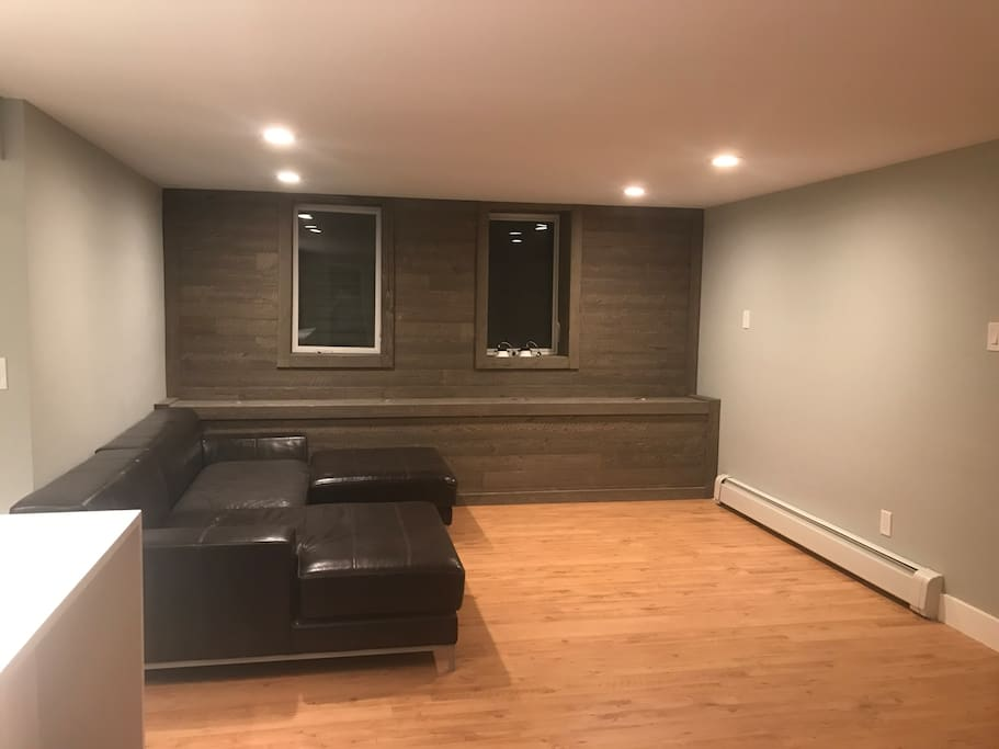 Your own living area