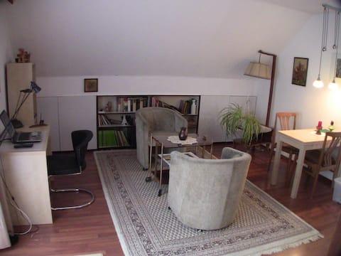 Apartment mit Balkon und Dachterrasse
