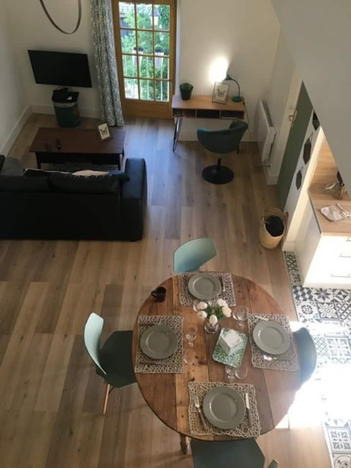 Appartement duplex lumineux 55m2 Centre historique