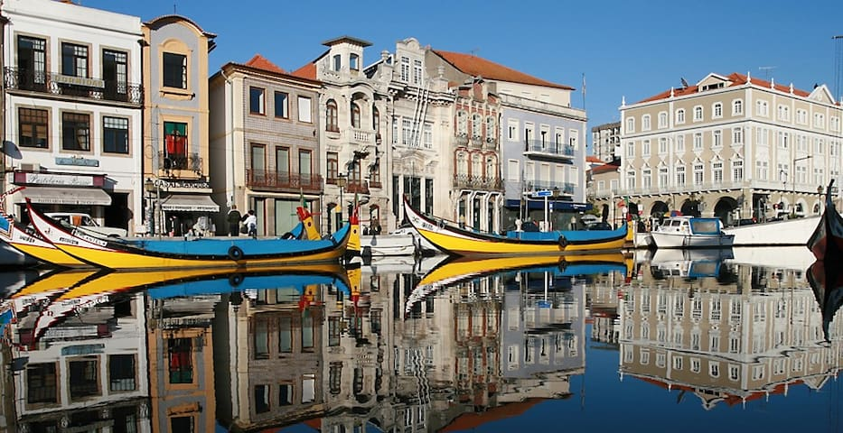 A nice place to spend a few days in central Aveiro