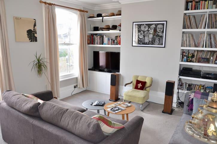 Double room in bright flat - London - Leilighet
