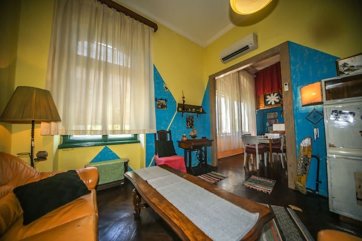 Unique apartment in center of Rijeka / Ksenija