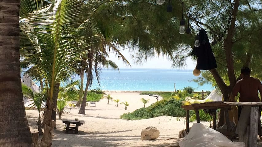 Enjoy our private beach at Rancho Pepo