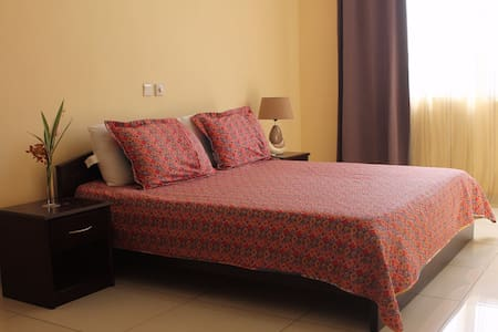 Accra : Beautiful Double Ensuite in Shared Apartment with Gym and Pool (F4R3) - Accra - Obsługiwany apartament