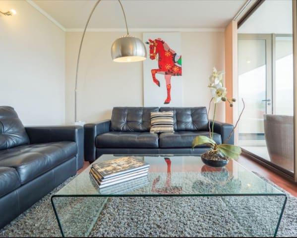 2B 2B COZY las condes parque Arauco - Las Condes - Appartement