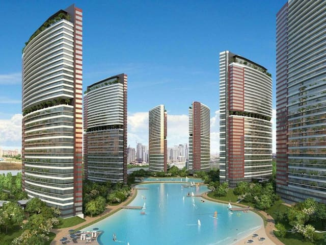 New apartment, 3+1 new furniture.