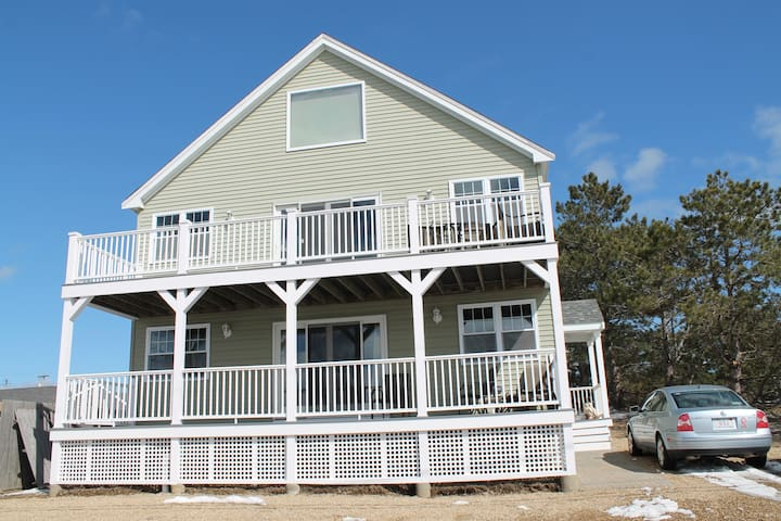 My Plum Island Dream house with views of Sunset