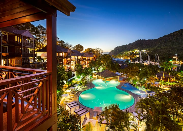 Marigot Bay Resort - All Inclusive One Bedroom Bay View Suite