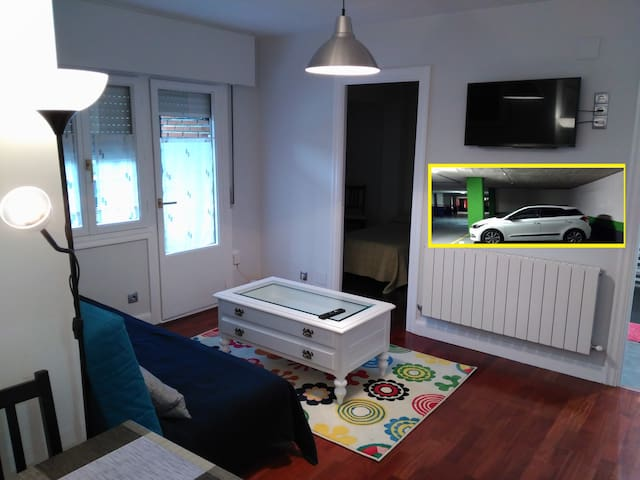 FREE PARKING.WiFi.5BEDS.15 MINUTES WALK OLD TOWN - Bilbo - Appartement