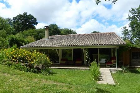 Petite maison calme style loft, 2 pas du festival - Marciac