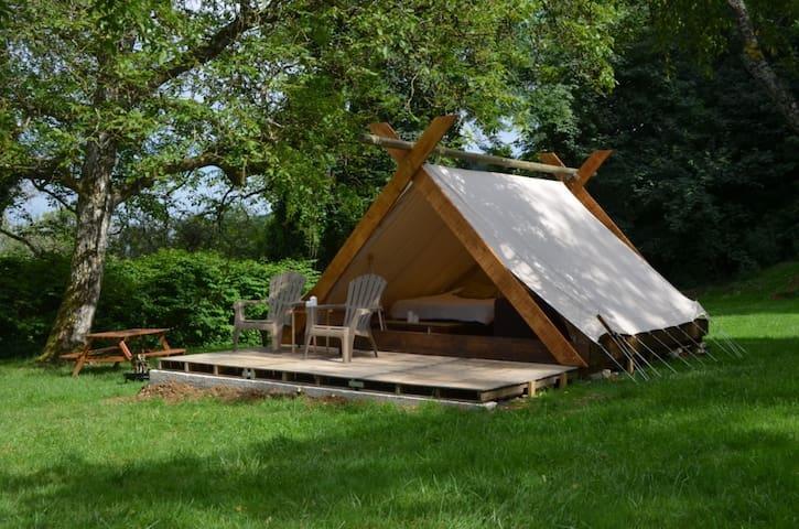 Cabane/tente insolite du Bois Joli - Saint-Maurice-sous-les-Côtes - Chatka