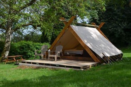 Cabane/tente insolite du Bois Joli - Saint-Maurice-sous-les-Côtes
