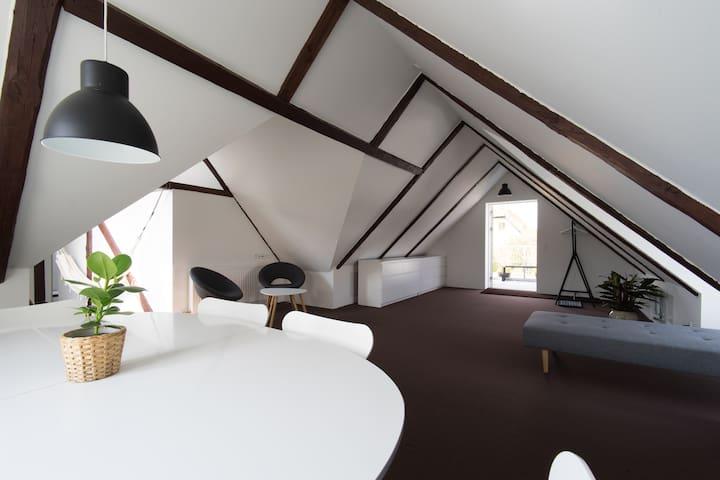 New built, loft appartment
