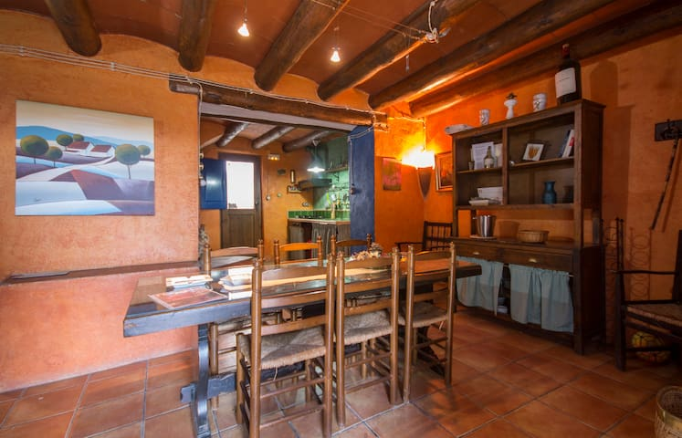 Apartamento Els Ceps, 7 pax - Valls - Huis