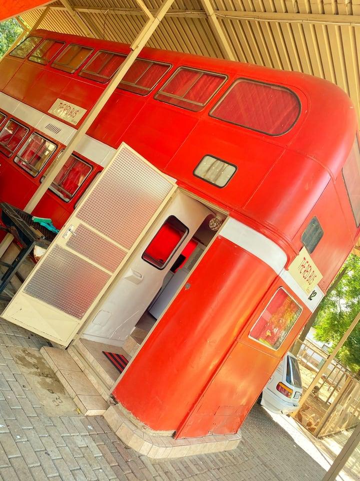Vaal River Weekend Getaway - The RED BUS House!