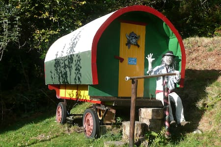 Come to a Gypsy caravan in the Wild of Skyhil - Glengarriff - Camper