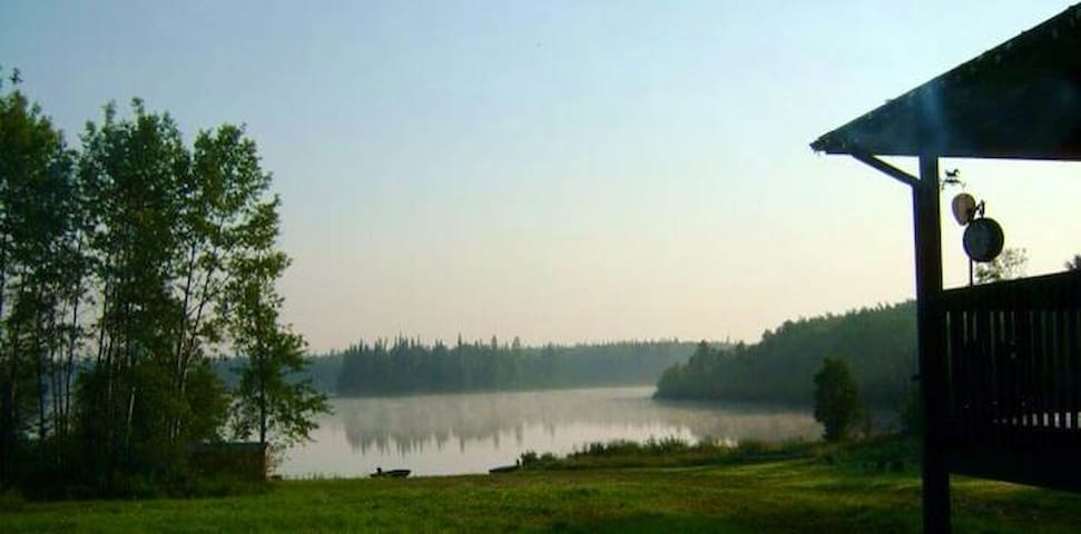 Beautiful Lakefront Home near Cold Lake, AB
