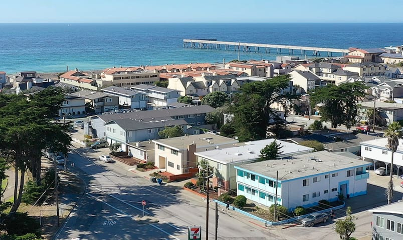 Cozy 2BR Steps to Pacifica Beach (LV4)