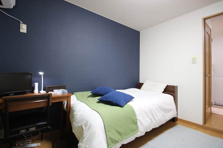 8mins Kyoto st. & NEAR BUS TERMINAL , PRIVATE  #26